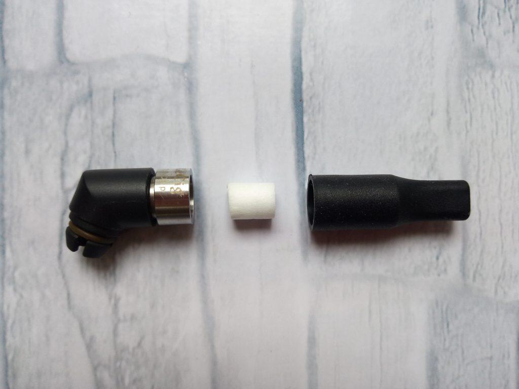 Kecig 1.0 Dripとシリコーン マウスピースとの間に手巻き用 レギュラー フィルター